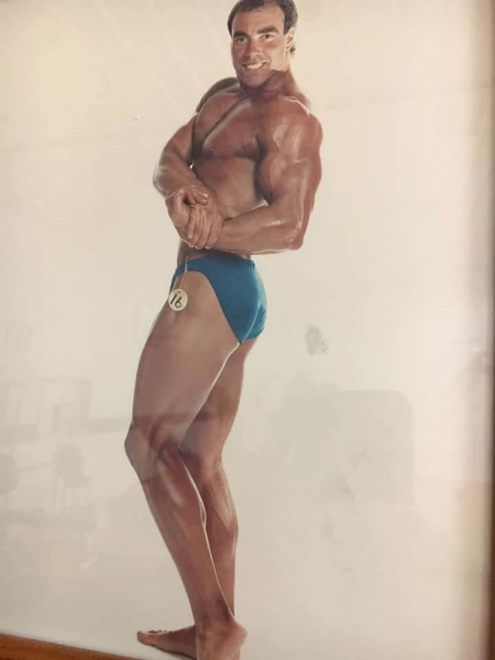 Dean Adelman Body Building Photo